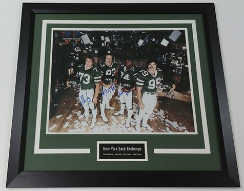 "New York Jets ""Sack Exchange"" 16x20 Framed Photo Display"