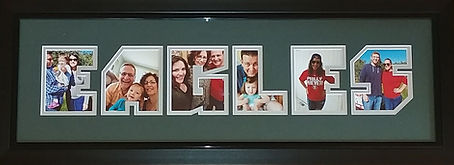 Personalized Sports Team Photo Frame