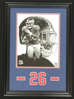 Saquon Barkley Framed 11x14 PROfile Photo