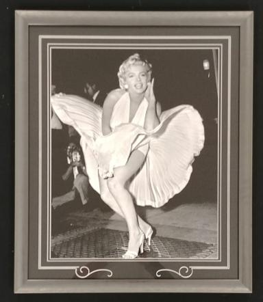 "Marilyn Monroe ""Seven Year Itch"" Framed 16x20 Photo"