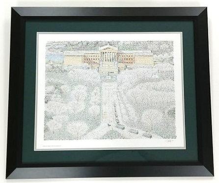 "Philadelphia Eagles Framed ""Super Bowl Parade"" 16x20 WordArt Print"