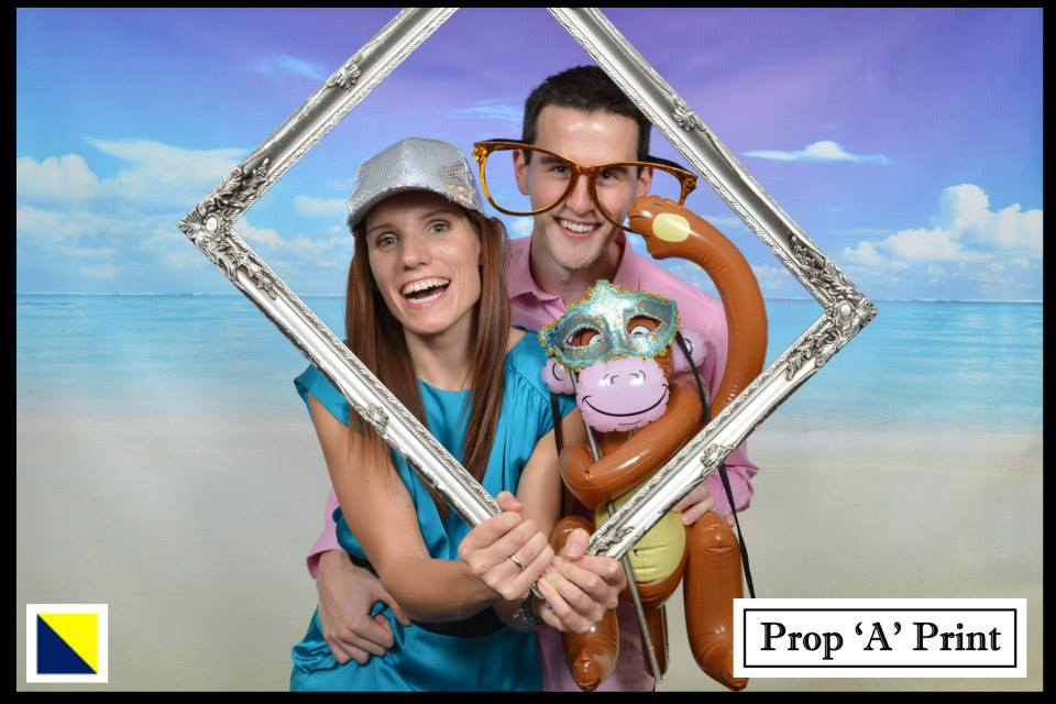 Beach photo booth Chichester