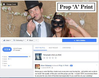 Check out our Facebook Reviews, proof you need to book us for your event!