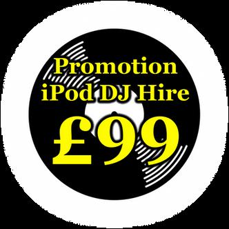 iPod DJ / DIY Disco / PA Hire Hampshire