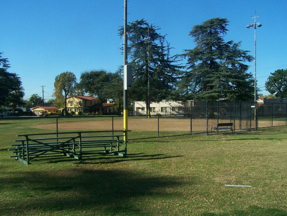 Baseball field, Covina Park