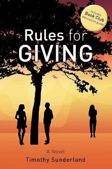 Rules for Giving, a malecentric novel
