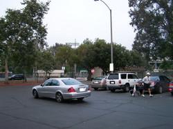 Parking lot at Brookside