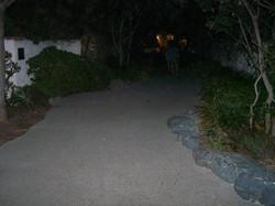 Hunts Park at Night