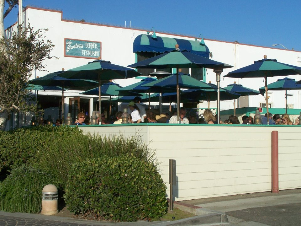 Patio of The Greeters Corner