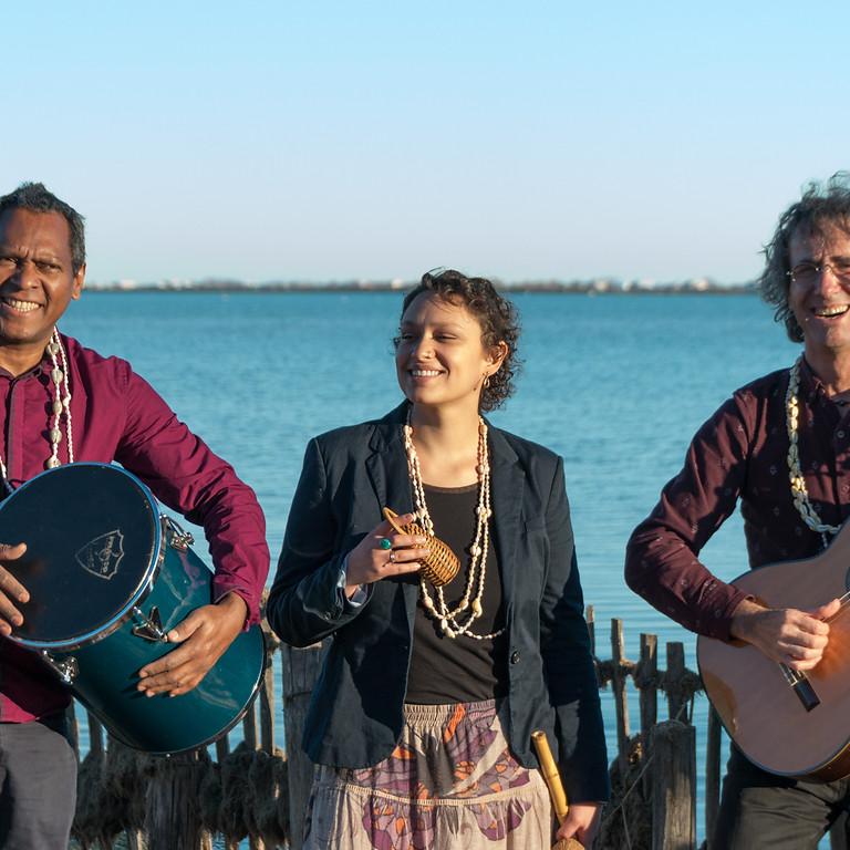 Trio Tropicalia à La Gazette Café à Montpellier (34)