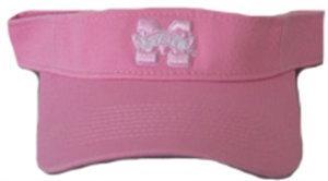 Mississippi State Bulldogs Pink Visor for Her