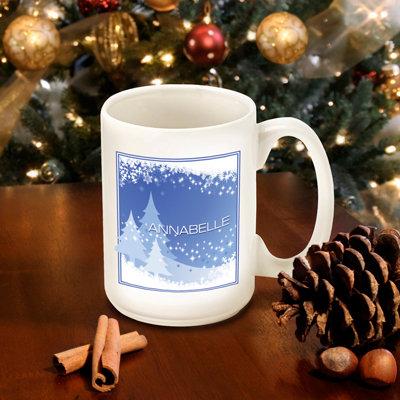 Personalized Christmas Mugs - 24 Designs