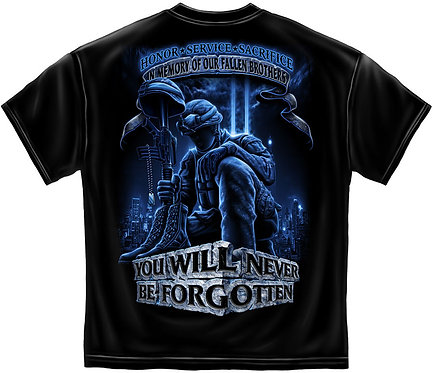 """You Will Never Be Forgotten"" KIA T-Shirt"