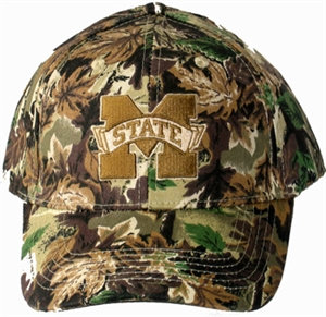 Mississippi State Camo Cap Fitted