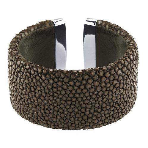 Stingray Cuff Bracelet w/Sterling Silver Ends