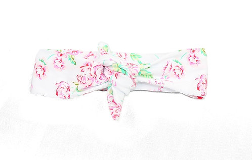 Floral Bohemian Knotted Headband