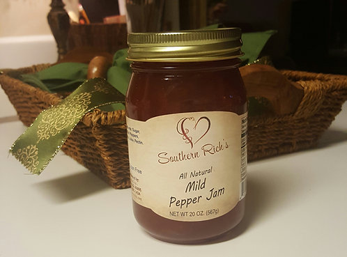 All Natural Mild Pepper Jam