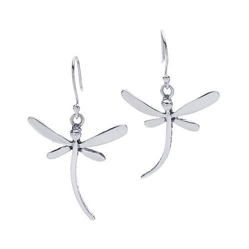 Sterling Silverr Dragon Fly Earrings