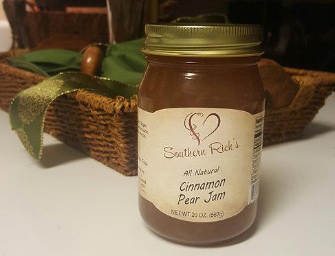 All Natural Cinnamon Pear Jam