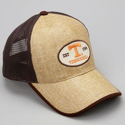 Tennessee Volunteers Straw Mesh Back Cap