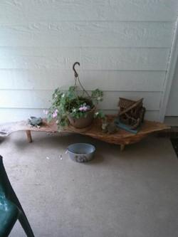 Plant Showcase Bench