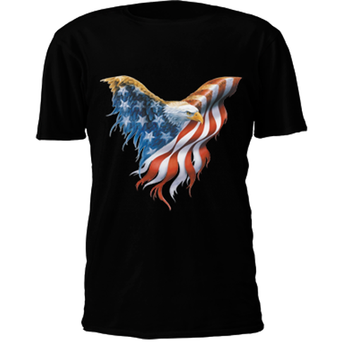 American Flag Eage T-Shirt