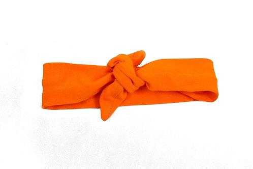 Orange Knotted Headband