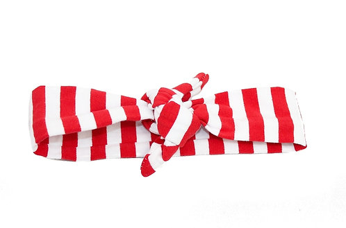Large Stripe Knotted Headband - 2 Colors