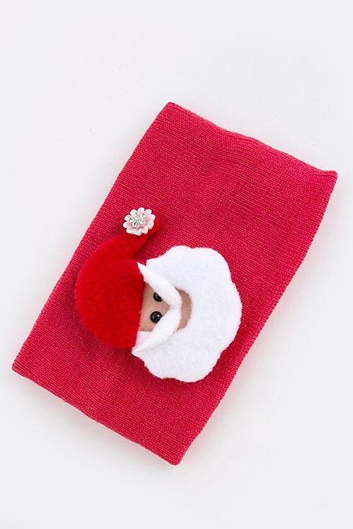 Christmas Santa Claus Stretchable Girl's Headwrap
