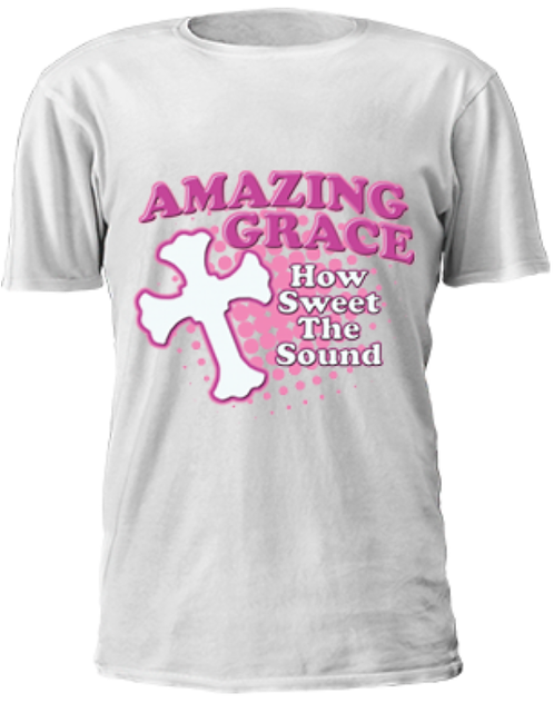 """Amazing Grace """"How Sweet The Sound"""" T-Shirt"""