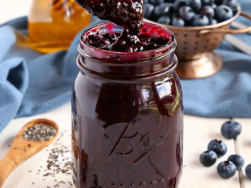 All Natural Blueberry Jam