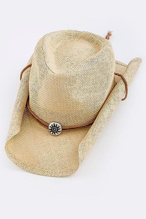 Sun Bead Cowboy Hat