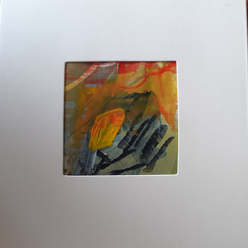 a variety of original painting cards