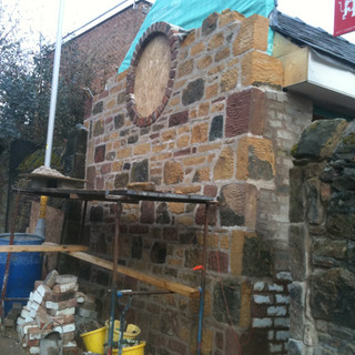 New build gable end Oxton