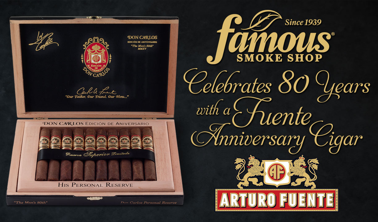 A. Fuente Famous 80th Edition