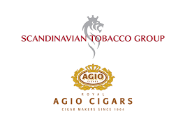 Logos courtesy of Scandinavian Tobacco Group and Royal Agio Cigars