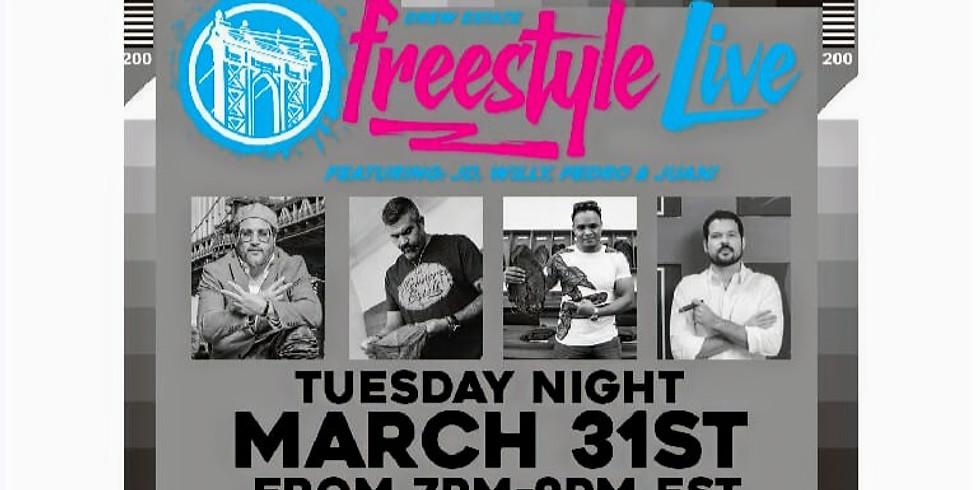 Drew Estate Freestyle Live