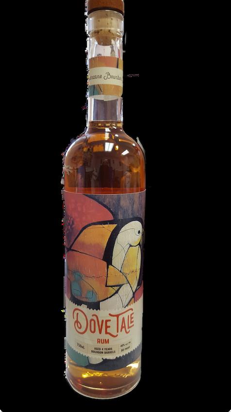 Dove Tale Rum bottle