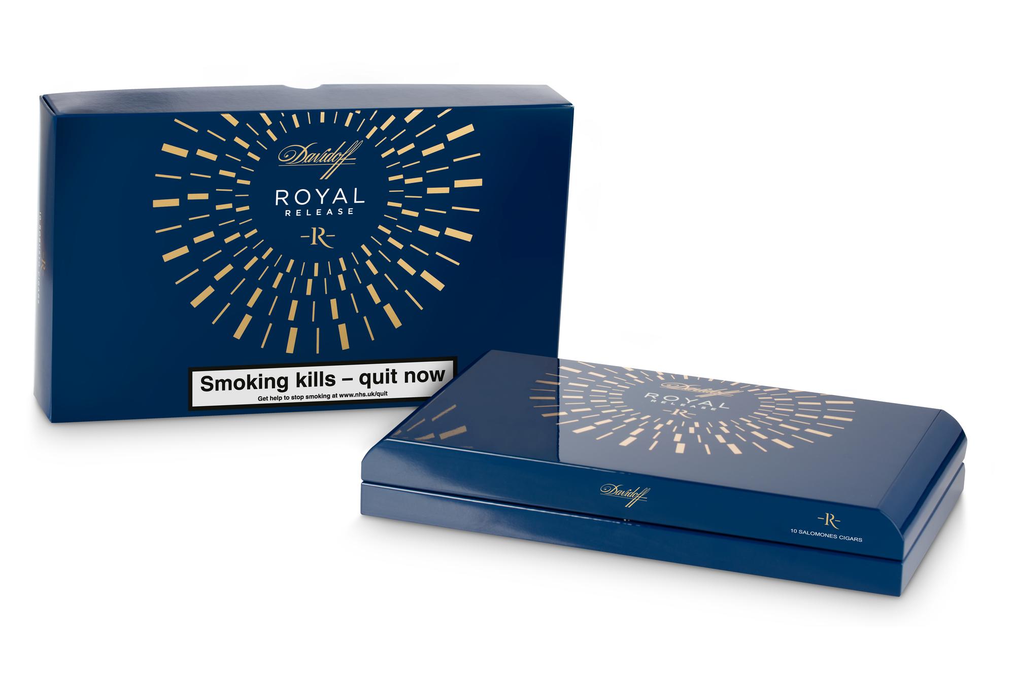 Davidoff Royal Release box