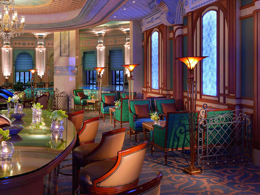 Courtesy of Turquoise Cigar Lounge, Ritz-Carlton, Riyadh