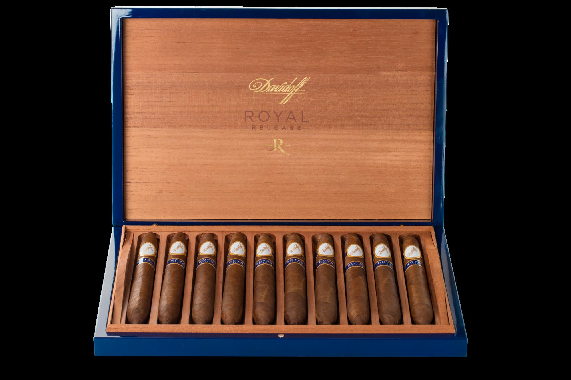 Davidoff Royal Release Salomones box