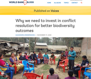 Why we need to invest in conflict resolution