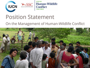 New publications from the IUCN SSC Human-Wildlife Conflict Task Force
