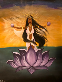 Lotus Goddess