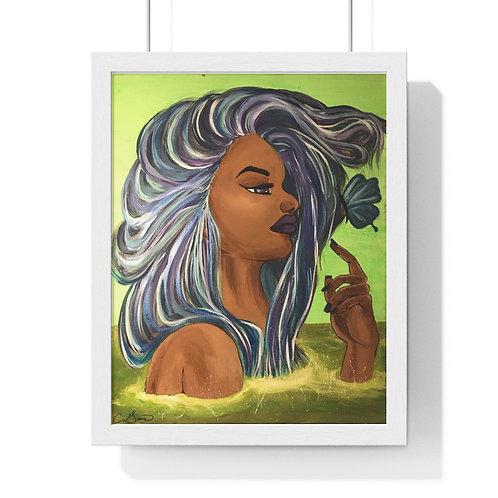 Green Goddess Premium Framed Poster
