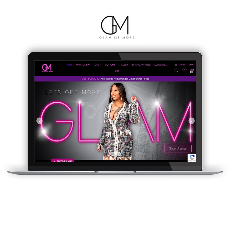 GLAM ME MORE - COMING SOON