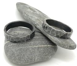 Men's Oxidised Ring