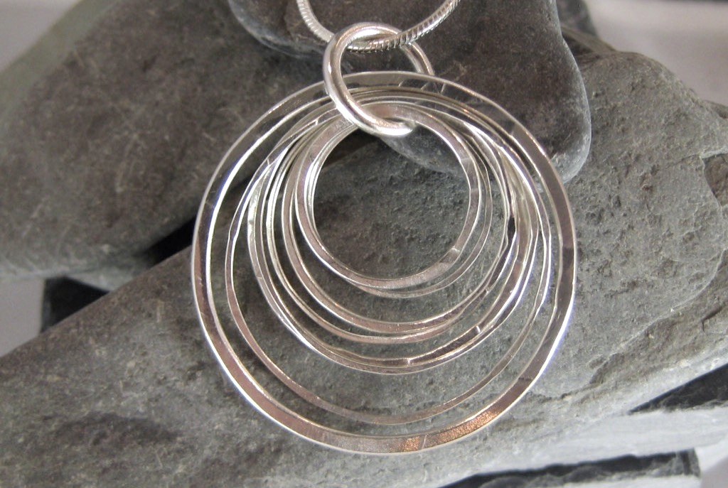 Many Circles Pendant