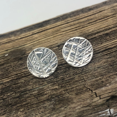 Random Lines Stud Earrings