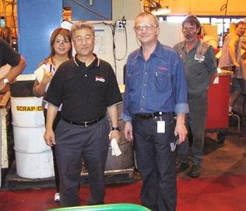 Lorenzo Compagnoni:  Kaizen in USA con Mr Nagamatsu – Shingijutsu Team